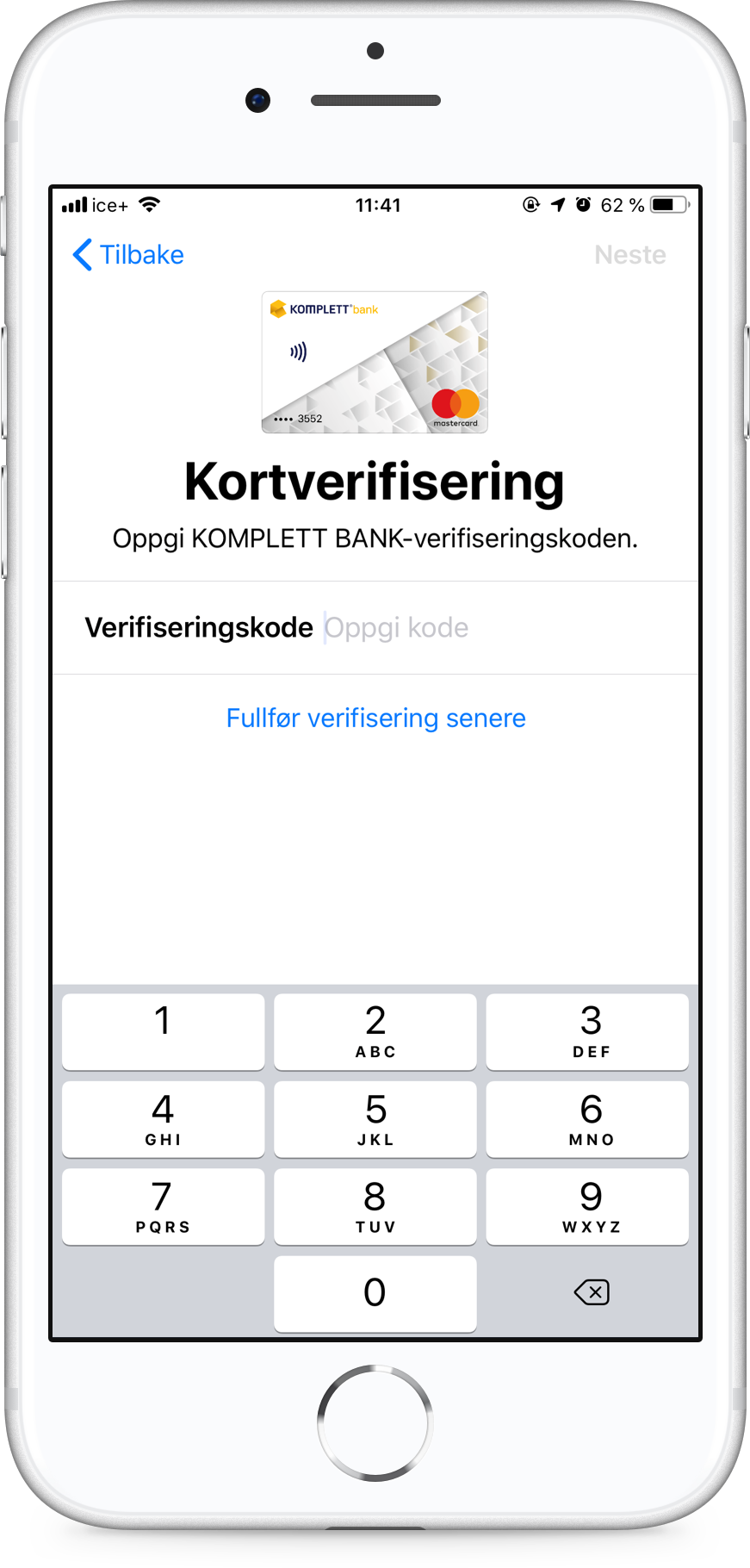 Apple Pay steg 3