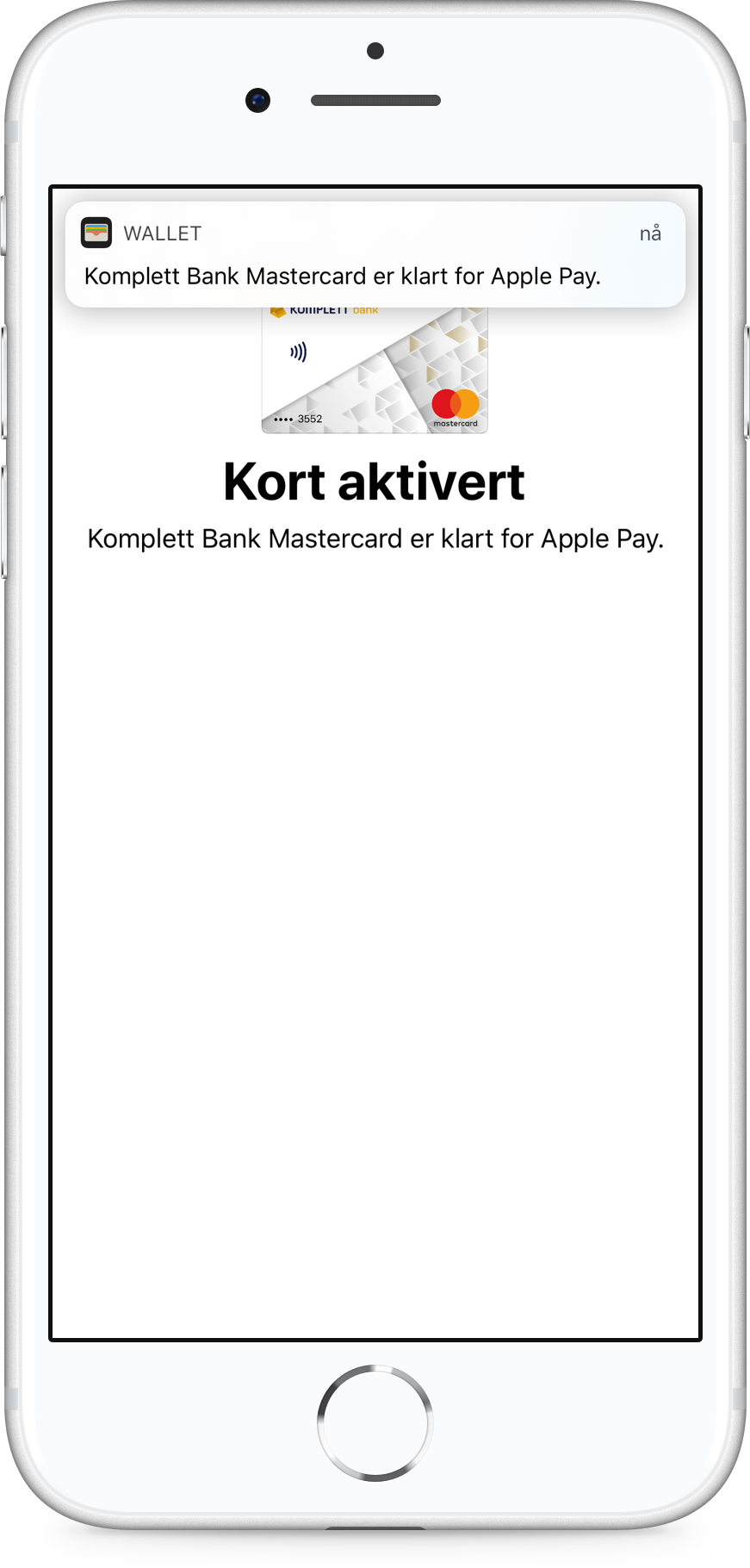 Apple Pay steg 4